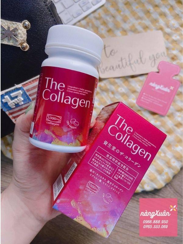 Viên uống đẹp da The Collagen Shiseido