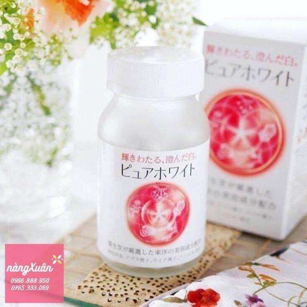 Viên uống trắng da Shiseido