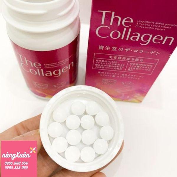 Công dụng viên uống The Collagen Shiseido chính hãng