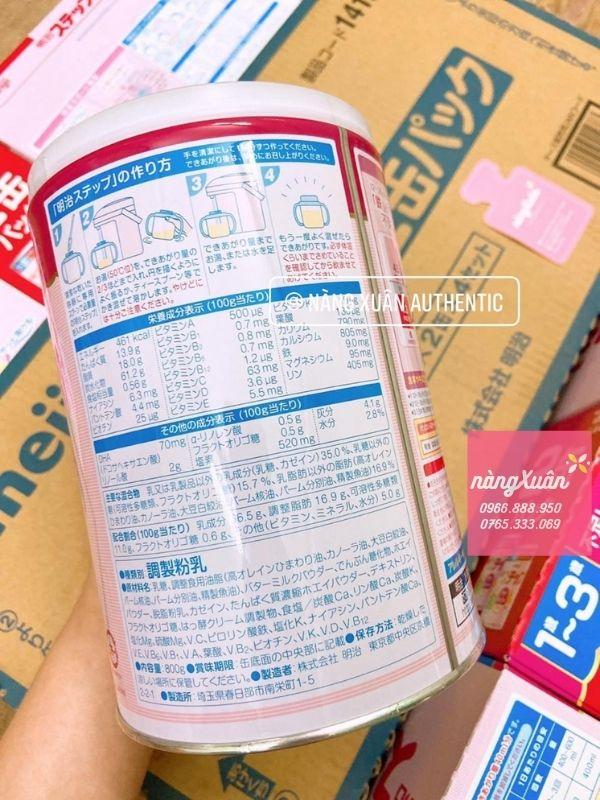 Sữa Meiji độ tuổi 1-3 chính hãng nội địa Nhật
