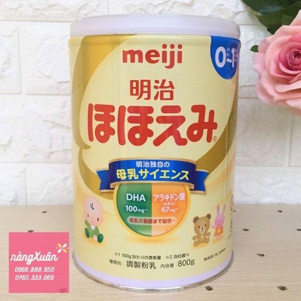 Meiji - Hàng chuẩn nội địa Nhật