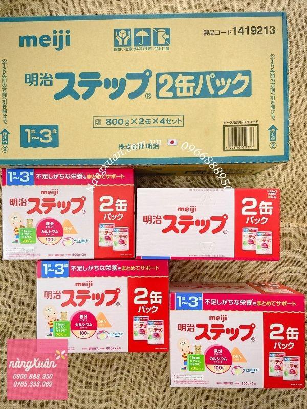 Meiji tại Nàng Xuân được vận chuyển Air với chất lượng chuẩn