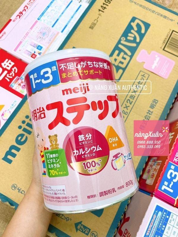 Sữa Meiji Nhật độ tuổi 1-3