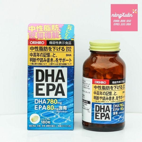 Viên bổ não ORIHIRO DHA EPA