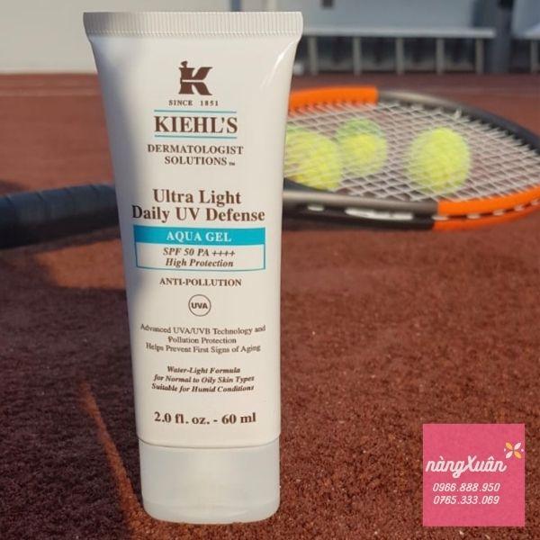 Kem chống nắng Kiehls Ultra Light UV Defense Aqua Gel