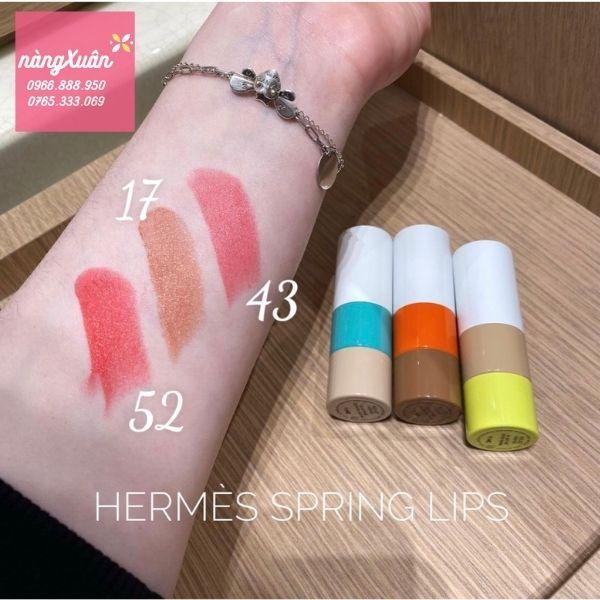 Hermes Spring Lipstick
