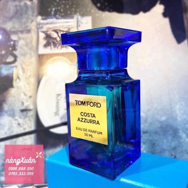 Nước hoa Tom Ford Costa Azzurra EDP màu xanh