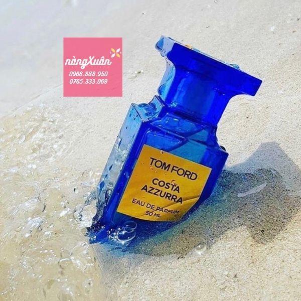 Nước hoa Tom Ford màu xanh