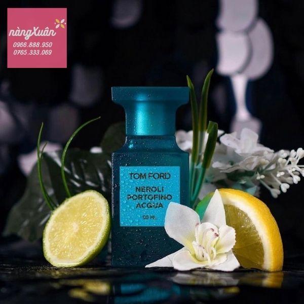 Review mùi hương Nước hoa Tom Ford Neroli Portofino Acqua