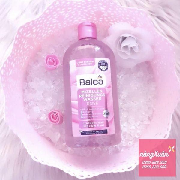 Nước tẩy trang Balea Mizellen Reinigungs Wasser Rose