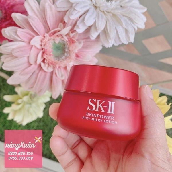 Kem chống lão hóa SK-II SKIN POWER AIRY dành cho da nhờn
