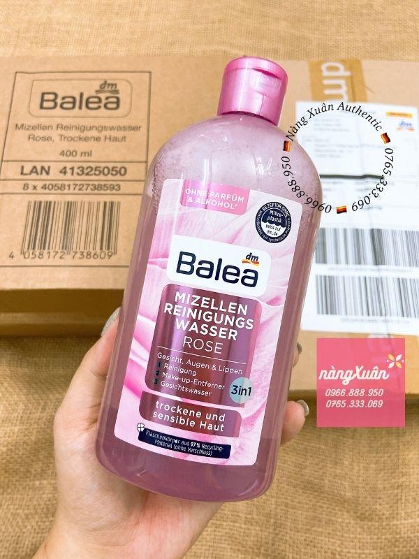 Tẩy trang Balea Rose chính hãng nội địa Đức