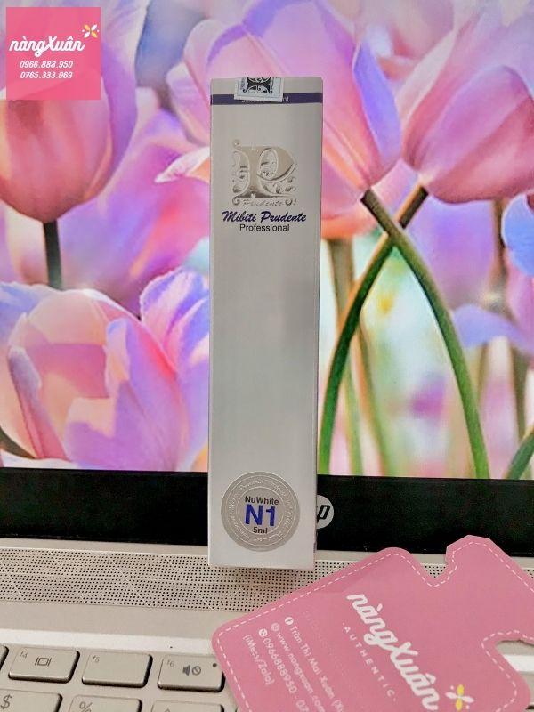 Review Nuwhite N1 làm hồng - trị thâm nhũ hoa