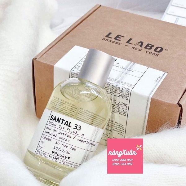 Nước hoa Le Labo 100ml giá bao nhiêu