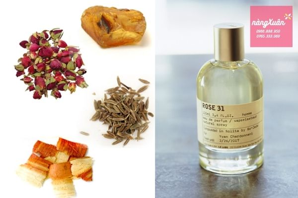 Review mùi hương Le Labo Rose 31