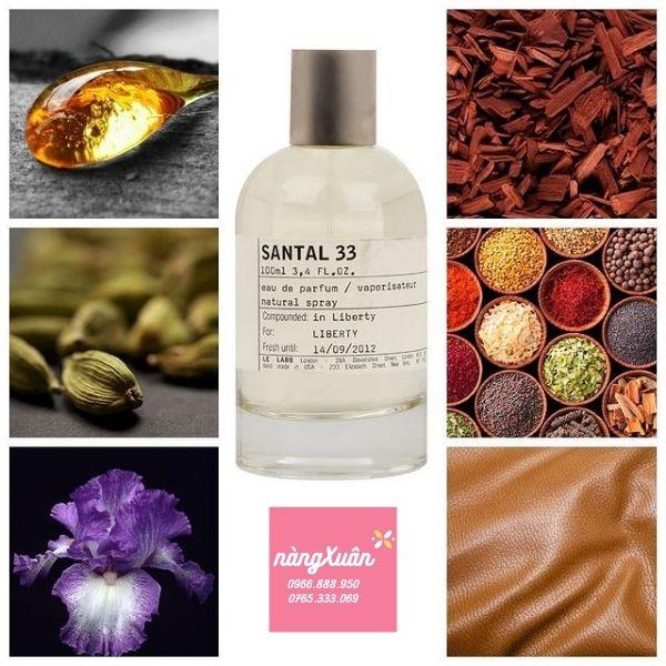 Review mùi hương Le Labo 33