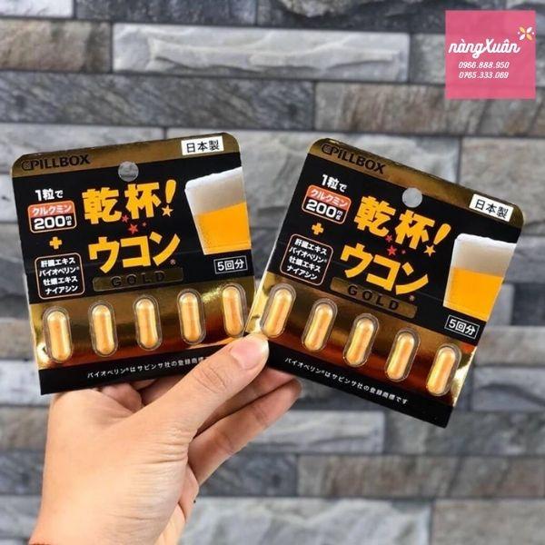 Review viên nghệ giải rượu Nhật