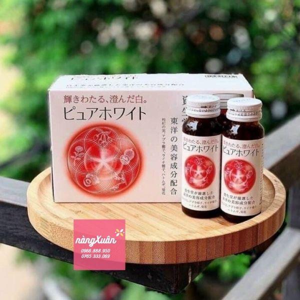 Nước collagen trắng da Shiseido.