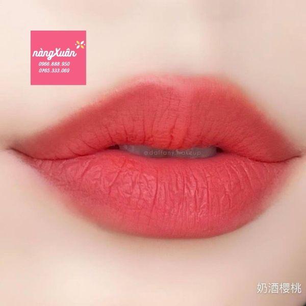 Review son shu vỏ xanh cherry cream