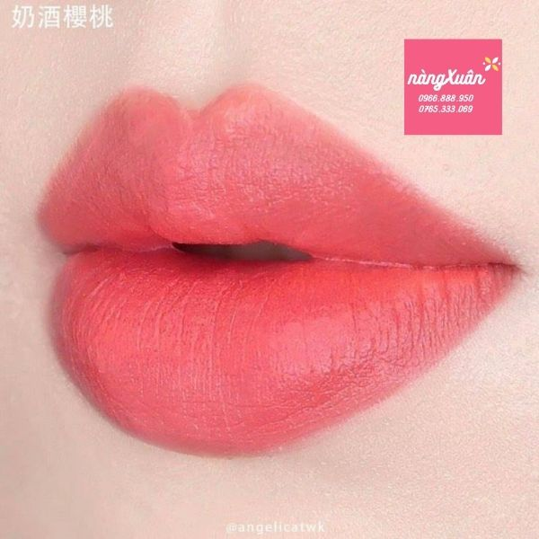 Son Shu Cherry Cream vỏ xanh limited
