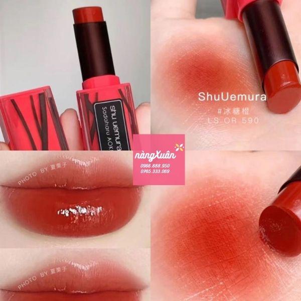 Son Shu vỏ hồng Azuki Caramel
