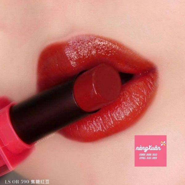 Swatch son shu Aoki 590 vỏ hồng.