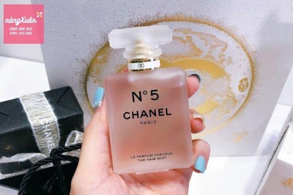 Review mùi hương Chanel No5 Hair Mist 35ML