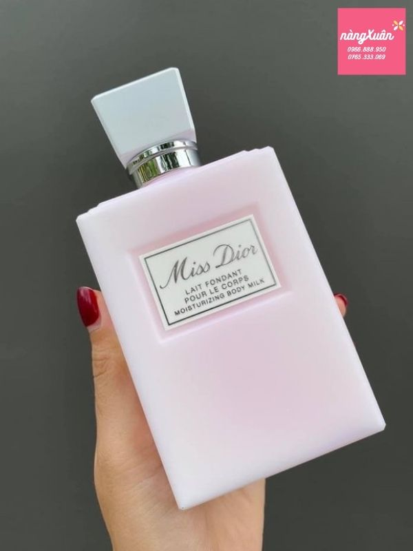 Dưỡng thể Miss Dior Review