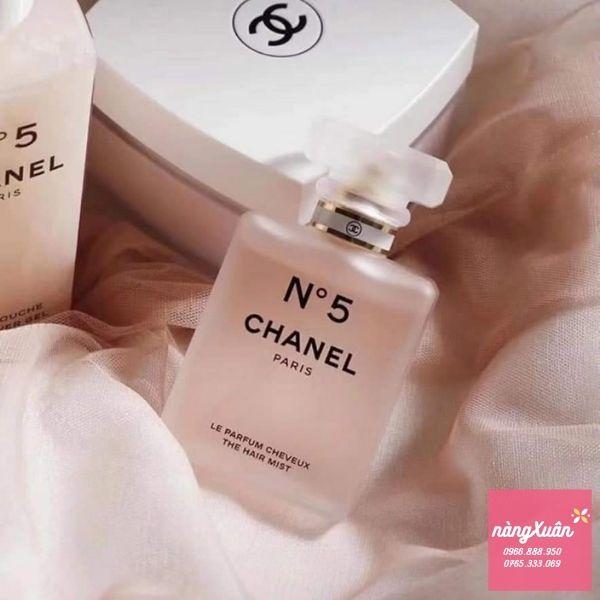 Nước hoa xịt tóc thơm lâu, mùi sang trọng