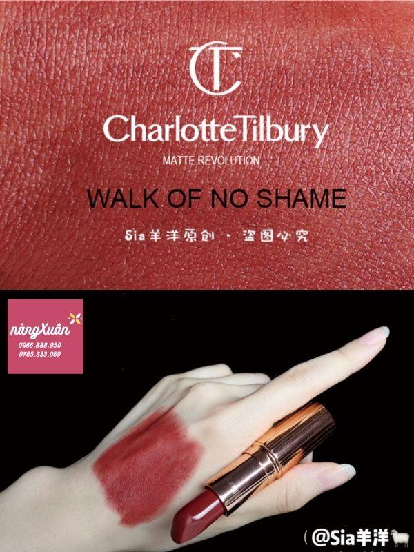 Review chất son Charlotte Tilbury màu đỏ nâu đẹp