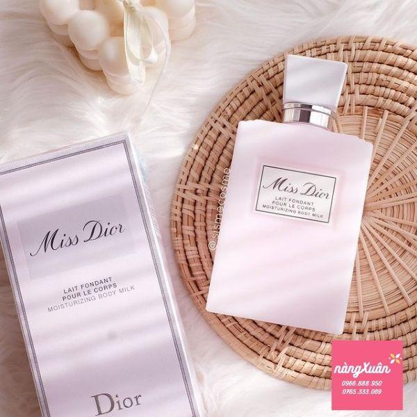 Dưỡng thể Miss Dior chính hãng mua ở đâu?