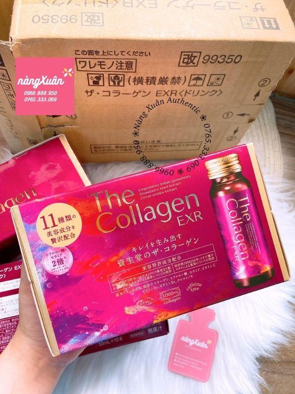 Shiseido The Collagen EXR chính hãng Nhật
