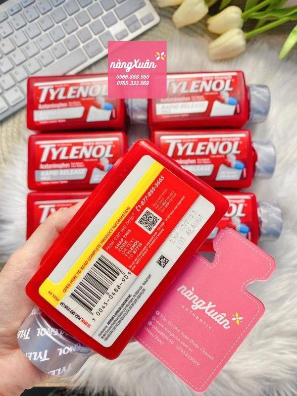 Liều uống Tylenol 500mg của Mỹ