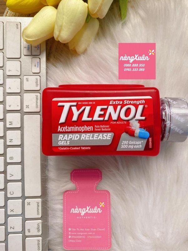 Thuốc uống hạ sốt Tylenol Mỹ