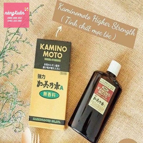 Giá Tinh dầu mọc tóc Kamino moto, Tinh dầu mọc tóc Kaminomoto