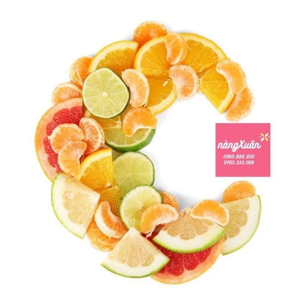 Công dụng Vitamin C.