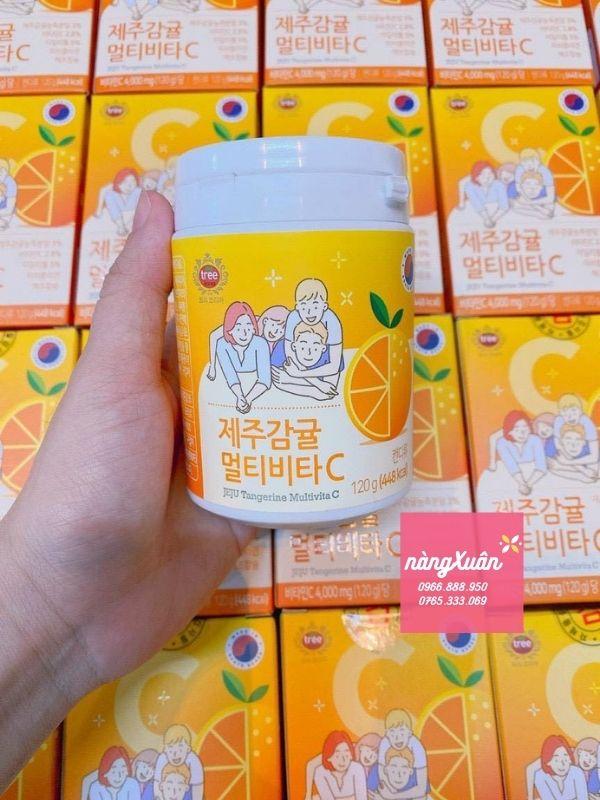 Viên ngậm Vitamin C Jeju Hàn Quốc 4000mg