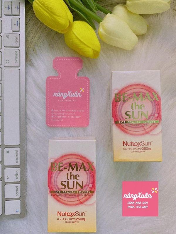 Viên uống chống nắng Be-Max The Sun 30 viên của Nhật