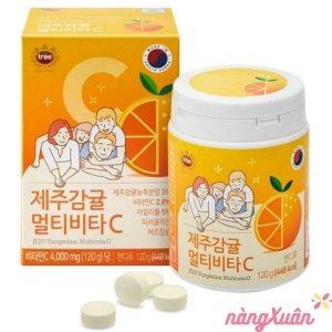 Vitamin C JEJU Hàn Quốc 4000mg